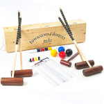 Townsend 4 Player Croquet Set with Box (202)