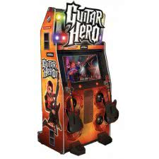 Konami Guitar Hero Arcade Machine