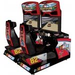 Global VR Nascar Team Racing Twin Arcade Machine