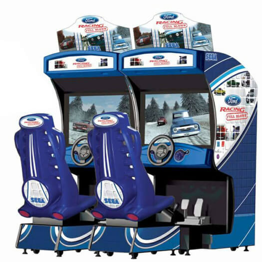 Sega Ford Racing: Full Blown Twin Arcade Machine