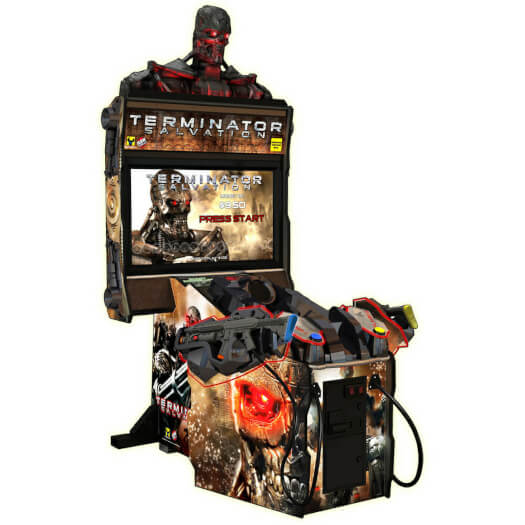 Raw Thrills Terminator Salvation Deluxe Arcade Machine