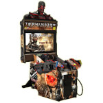 Terminator Salvation Deluxe Arcade Machine