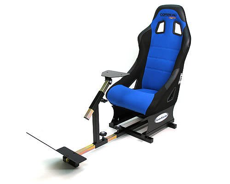Racer Elite Driving Simulator Seat Xbox Ps3 Pc Compatible