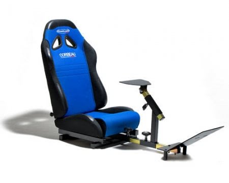Racer Pro Driving Simulator Seat - Xbox, PS3, PC Compatible