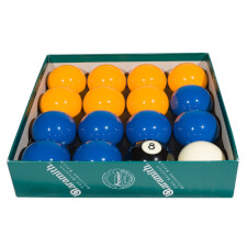 Aramith Premier 2'' (50.8mm) Blue & Yellow Pool Ball Set