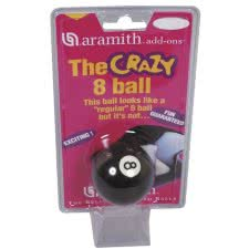 Aramith 2 1/4'' (57mm) Crazy 8 Ball