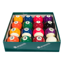 Aramith Premier 2'' (50.8mm) Spots & Stripes Pool Ball Set