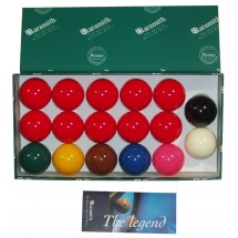 Aramith 2'' 17 Ball Snooker Set (47-0620-2)