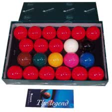 Aramith 2 1/4'' 22-Ball Snooker Set (47-0620-4)