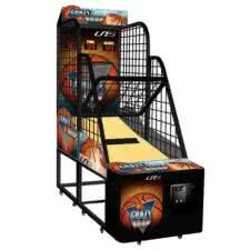 Crazy Hoops Basketball Arcade Machine