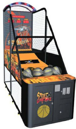 Street Fun Basketball Arcade Machine