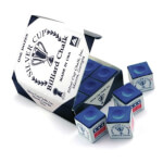 Silver Cup Billiard Chalk (12 Pieces)