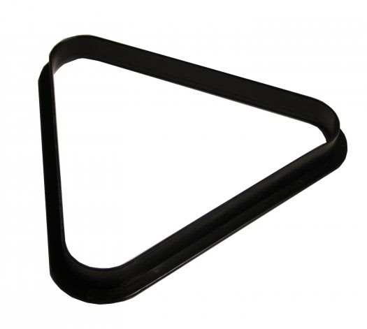 2'' Black Plastic Triangle for 10 Billiard Balls (47-0700-5)