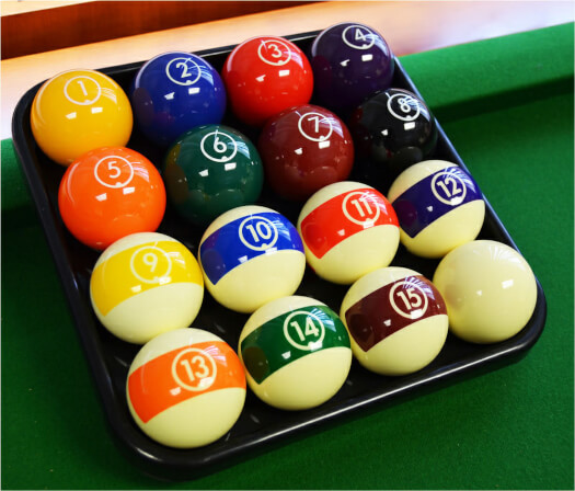 Pool Ball Tray