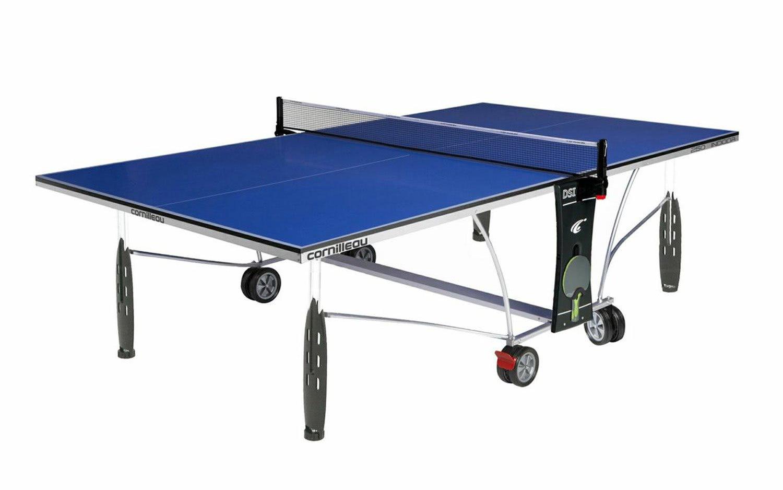 Cornilleau sport 250 rollaway indoor table tennis - Table de ping pong outdoor cornilleau ...