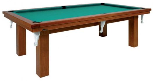 Longoni A.L. 8 foot American Slate Bed Pool Table