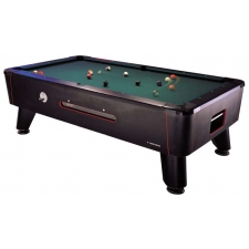 Longoni Concorde Coin Operated American Slate Bed Pool Table