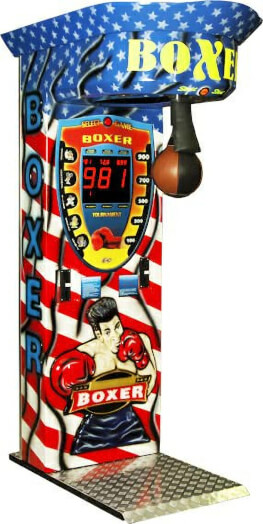 Boxer 3D Boxing Arcade Machine