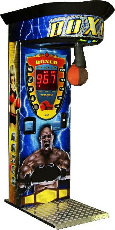 Boxer Cube Sticker Boxing Arcade Machine Liberty Games