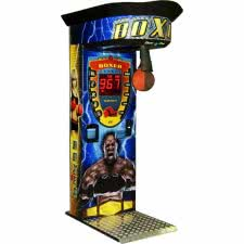 Boxer Cube Sticker Boxing Arcade Machine