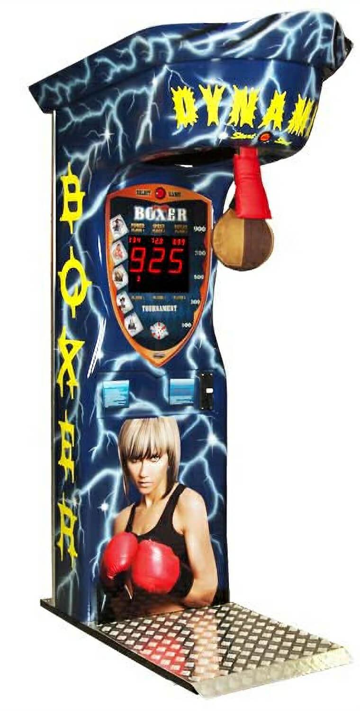 Boxer Dynamic Thunder Boxing Arcade Machine Liberty Games