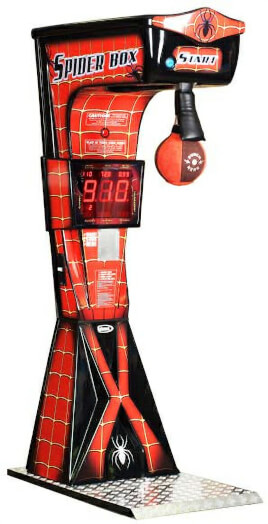 Boxer Spider Boxing Arcade Machine