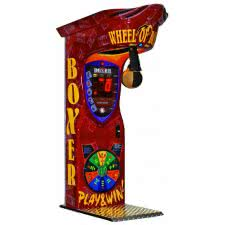 Boxer Wheel of Boxing Arcade Machine