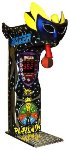 Boxer Mask Boxing Arcade Machine