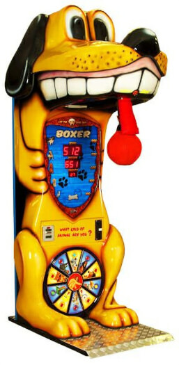 Boxer Dog Boxing Arcade Machine