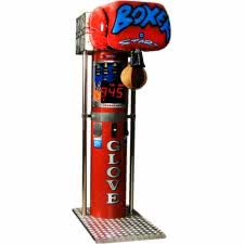 Boxer Glove Boxing Arcade Machine