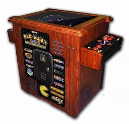 Pac-Man's Arcade Party Cocktail Arcade Machine