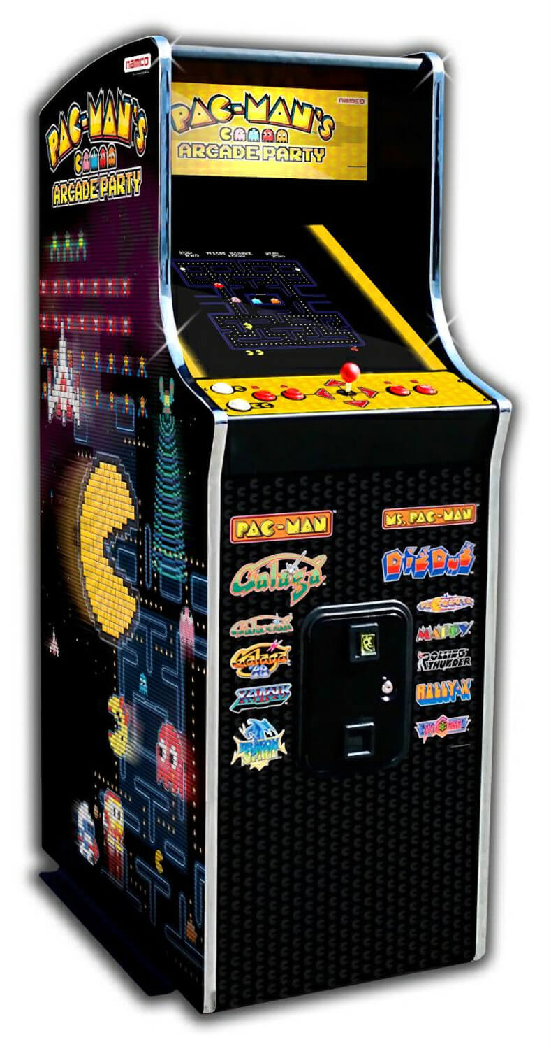 Namco Pac Man S Arcade Party Upright Arcade Machine