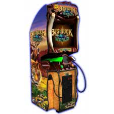 Raw Thrills Big Buck World Arcade Machine