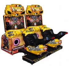 Raw Thrills Super Bikes 2 Twin Arcade Machine