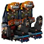 Fast & Furious: Super Cars Twin Arcade Machine