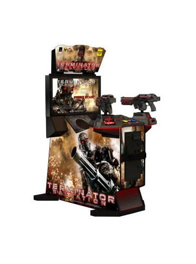 Raw Thrills Terminator Salvation Arcade Machine
