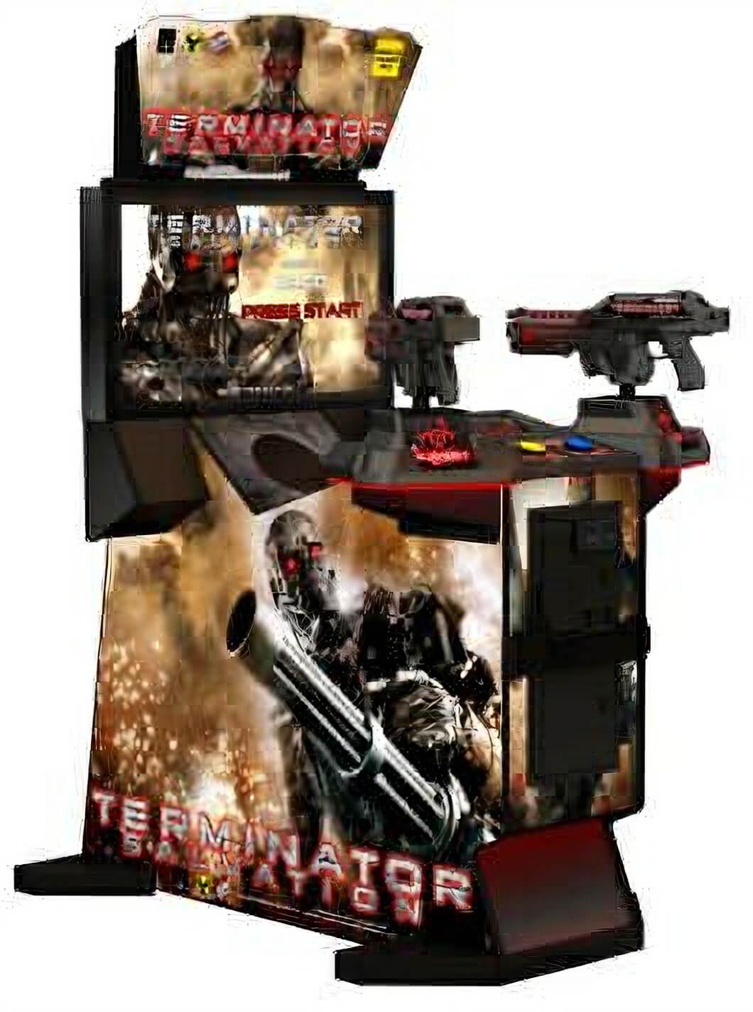 Raw Thrills Terminator Salvation Arcade Machine Liberty