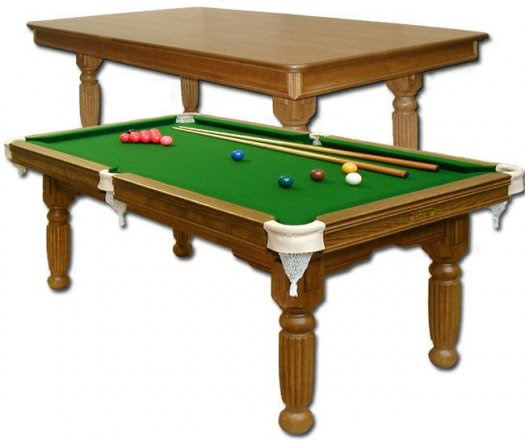 Majestic Diner Slate Bed Snooker Dining Table