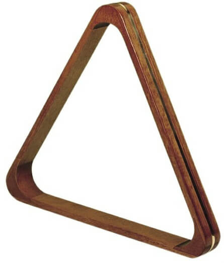 Dark Wood Snooker Triangle for 2 1/16'' Balls (4052.300)