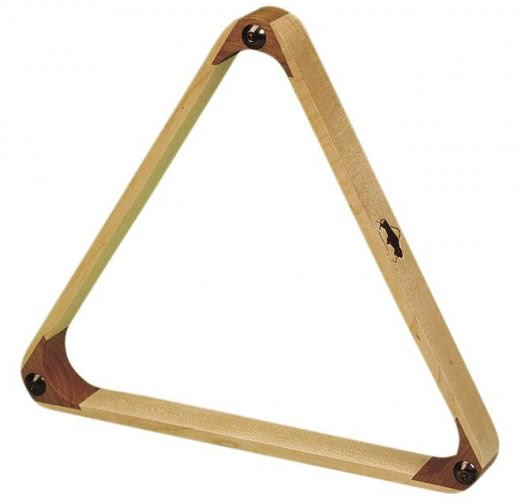 2 1/4'' Maple Triangle for 15 Billiard Balls (4057.500)