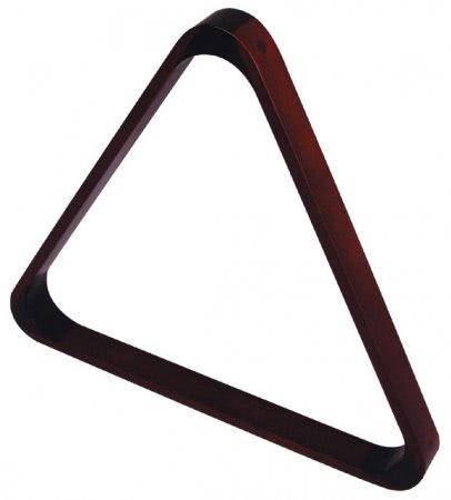 2 1/4'' Mahogany Triangle for 15 Billiard Balls (4057.602)