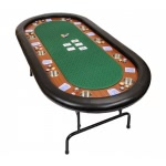 Premium Tournament Poker Table - Green (WFOLDTABLE-GREEN)