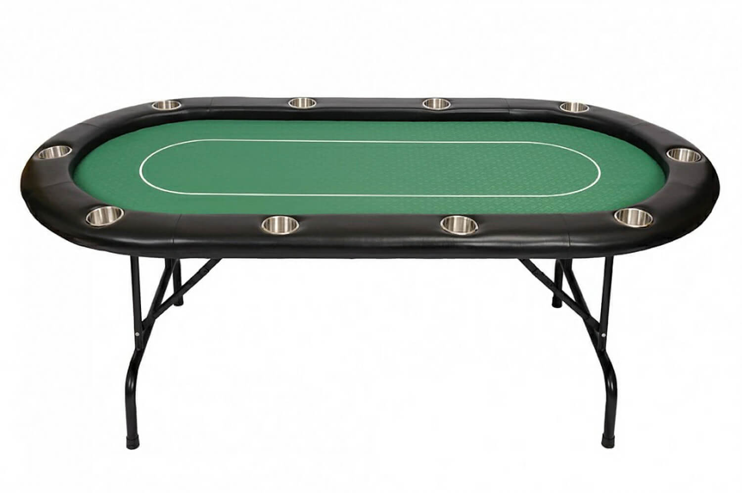 10 person pro poker table green bcfolding green for 10 person poker table top