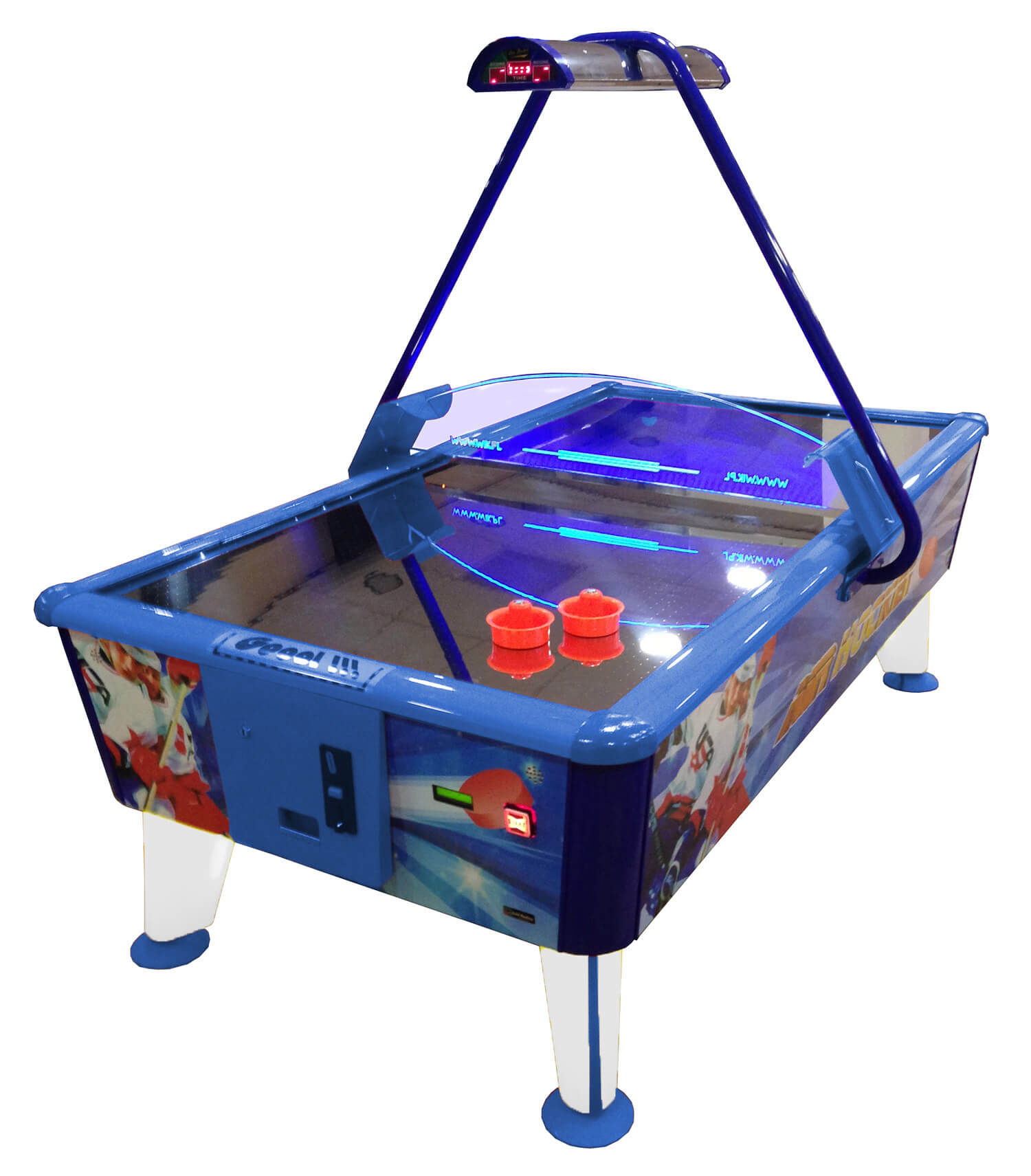 Wik Gold Commercial Air Hockey Table Liberty Games