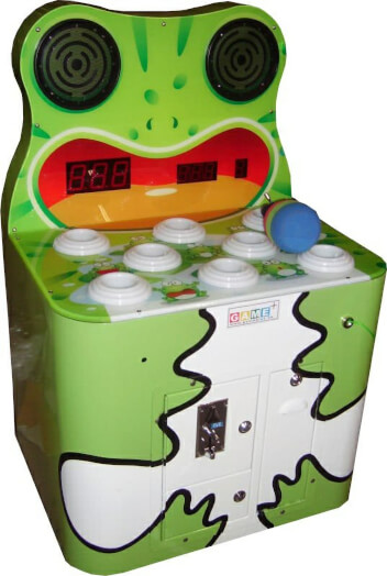 GamePlus Happy Frog Hammer Arcade Machine
