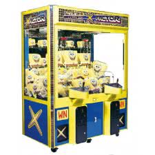 Cromptons X-Factor 2 Player Crane Machine