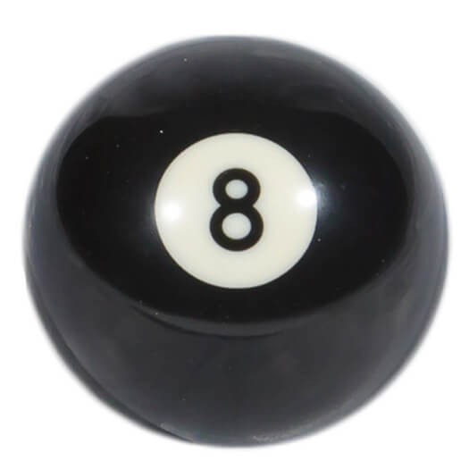 Competition No 8 Pool Ball