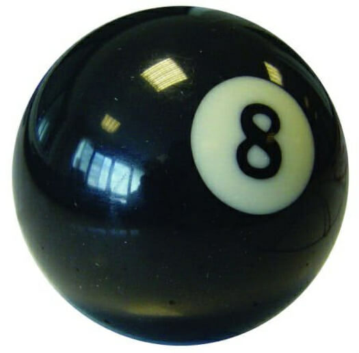 Aramith Single No 8 Ball