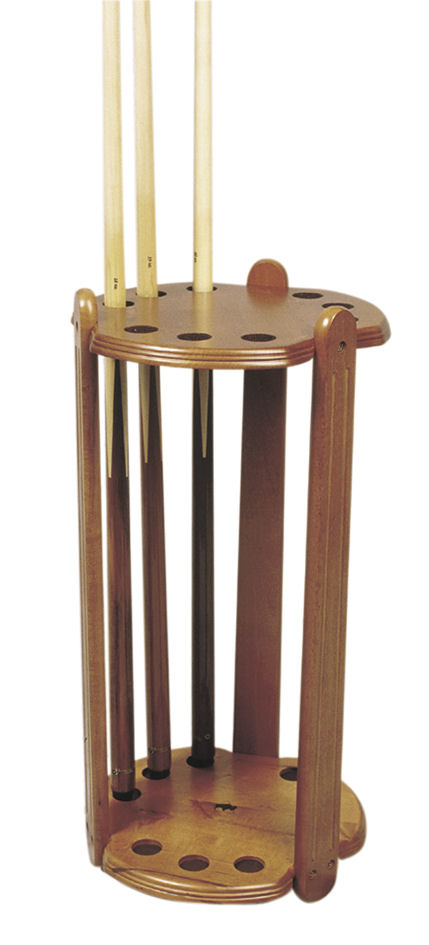 Deluxe Round Cue Stand For 9 Cues Liberty Games