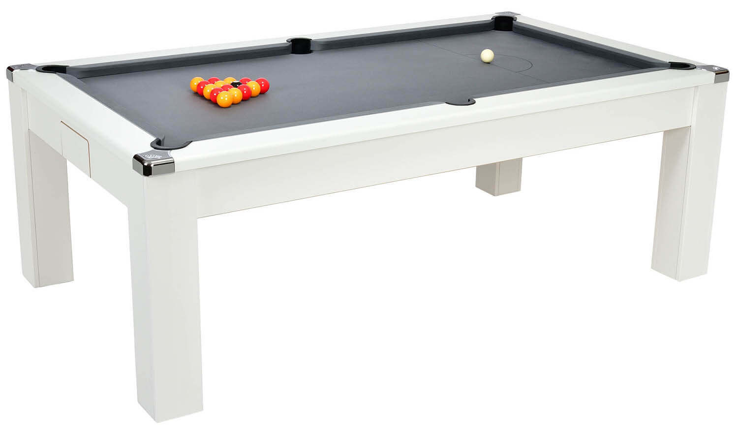 Avant garde pool dining table 6 ft 7 ft liberty games for 10 in 1 pool table
